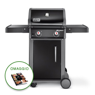 BARBECUE SPIRIT ORIGINAL E-210 BLACK WEBER 46010629 A GAS
