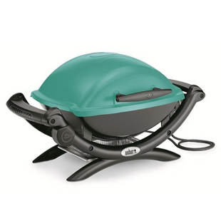 BARBECUE Q 1400 TEAL BLUE WEBER 52170053 ELETTRICO