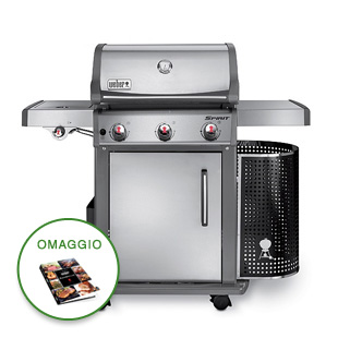 BARBECUE SPIRIT PREMIUM S-320 GBS INOX WEBER 46703529 A GAS