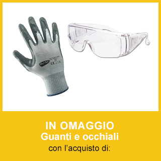 Omaggio guanti e occhiali