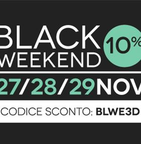 Il Black Weekend comincia ora!