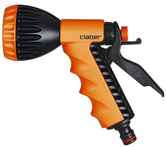 Pistola a doccia ergo claber lance per irrigazione del for Claber giardinaggio