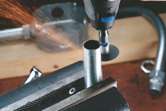 Utensile dremel 12 dischi sc456b per taglio metallo vanzo - Taglio piastrelle dremel ...