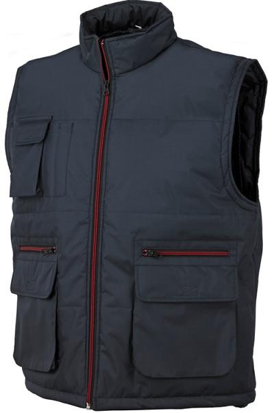 Gilet da lavoro ring - blu - Issa Line - Giacche e giacconi da ... 95adb0eeae74
