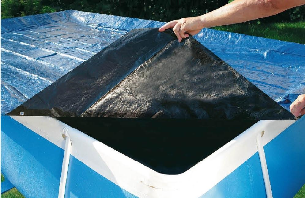 Copertura piscina bahia 400 top con elastico piscine e for Piscina bahia