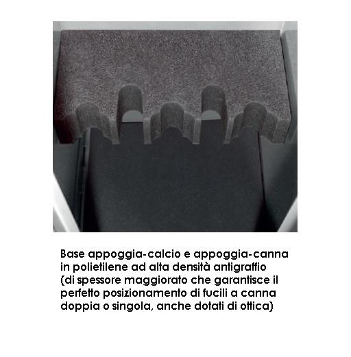 armadio blindato per fucili 8 posti - viro | vanzo
