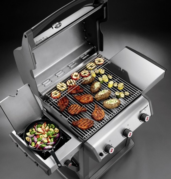 barbecue a gas weber spirit premium s330 gbs barbecue a gas vanzo. Black Bedroom Furniture Sets. Home Design Ideas