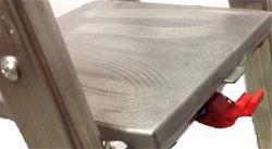 Pedana in alluminio per scala Quadra