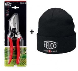 Forbice Felco 2 con berretto idea regalo