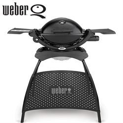 Barbecue a gas Weber Q2200 con supporto Black