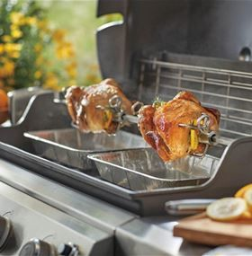 Acquista un barbecue Weber e ricevi un girarrosto gratuito