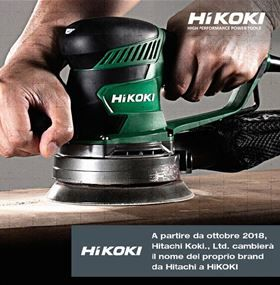 Hitachi sta diventando HiKOKI