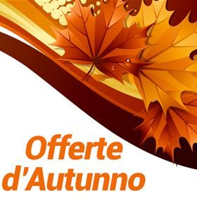 Offerte d'autunno: scopri tutte le promozioni speciali!