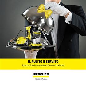 Concorso Kaercher - Il pulito è servito